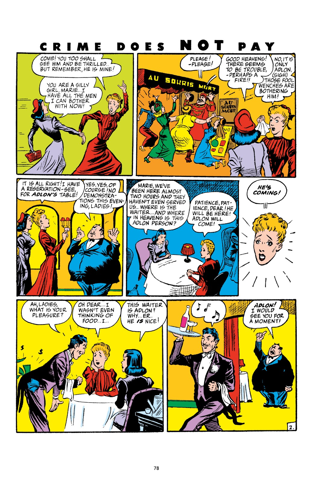Read online Crime Does Not Pay Archives comic -  Issue # TPB 4 (Part 1) - 78