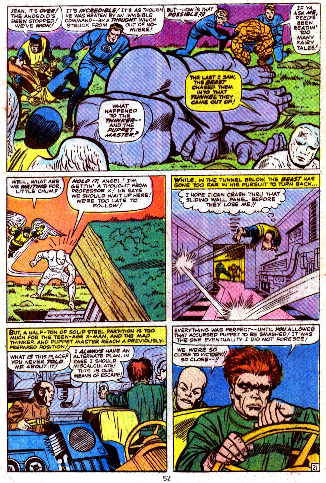 Giant-Size Fantastic Four issue 4 - Page 54
