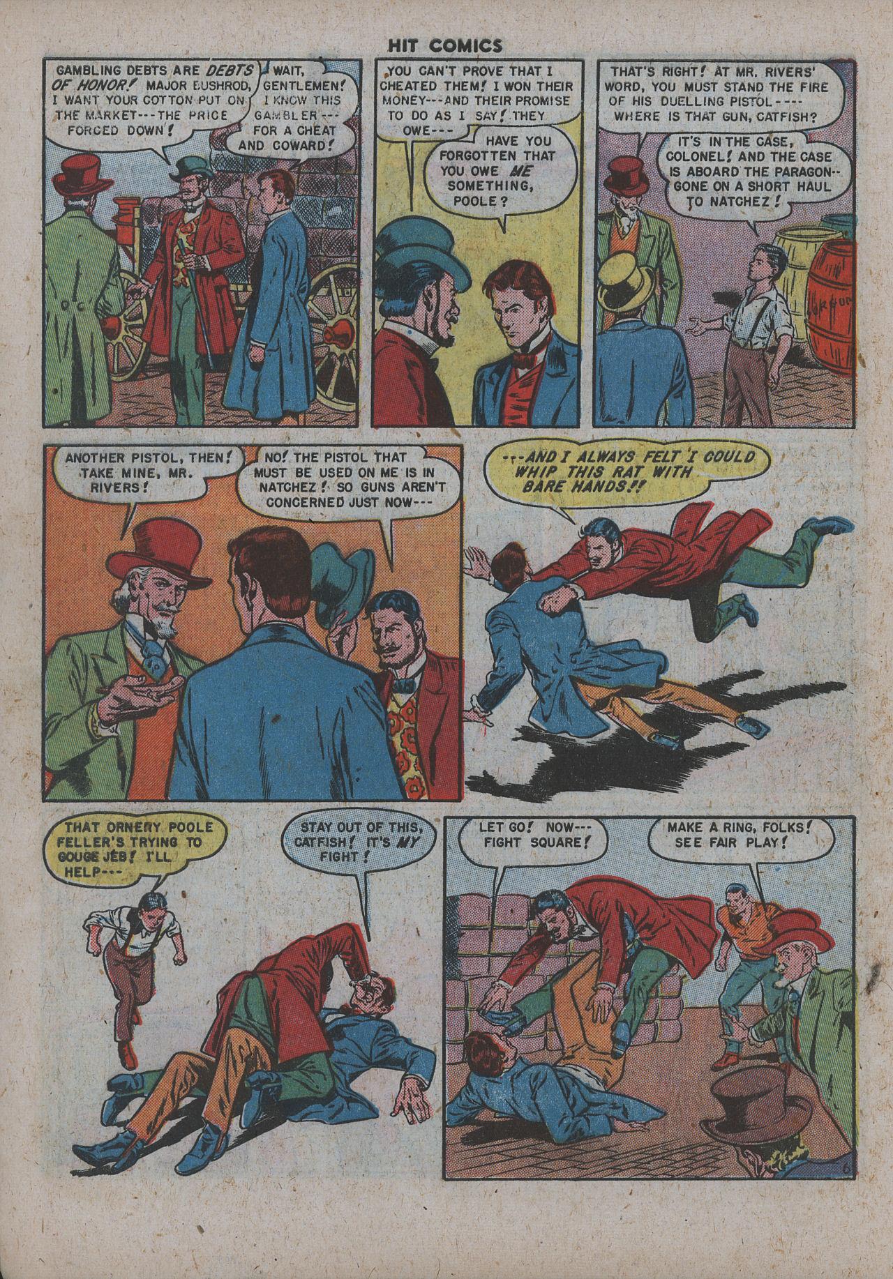 Read online Hit Comics comic -  Issue #63 - 8