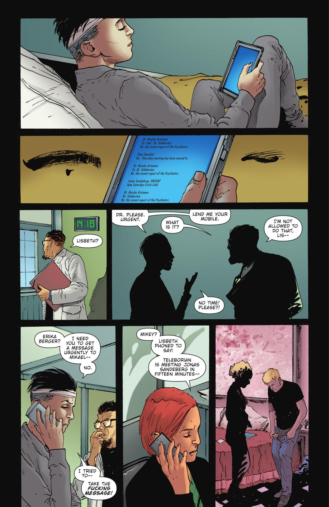 Read online The Girl Who Kicked The Hornet's Nest comic -  Issue # TPB - 189