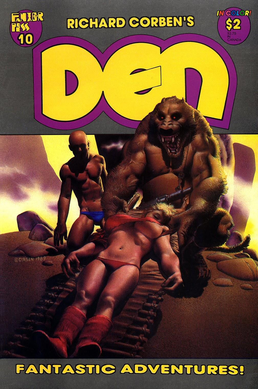 Den (1988) 10 Page 1