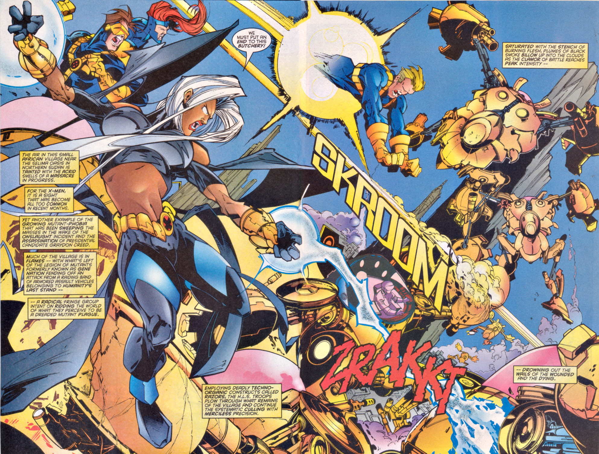 Read online Uncanny X-Men (1963) comic -  Issue # _Annual 1997 - 3