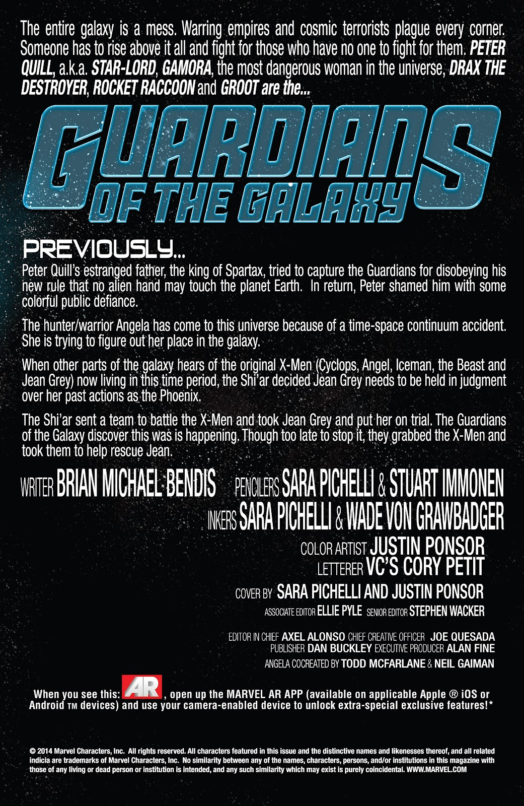 Guardians of the Galaxy/All-New X-Men: The Trial of Jean Grey issue TPB - Page 62