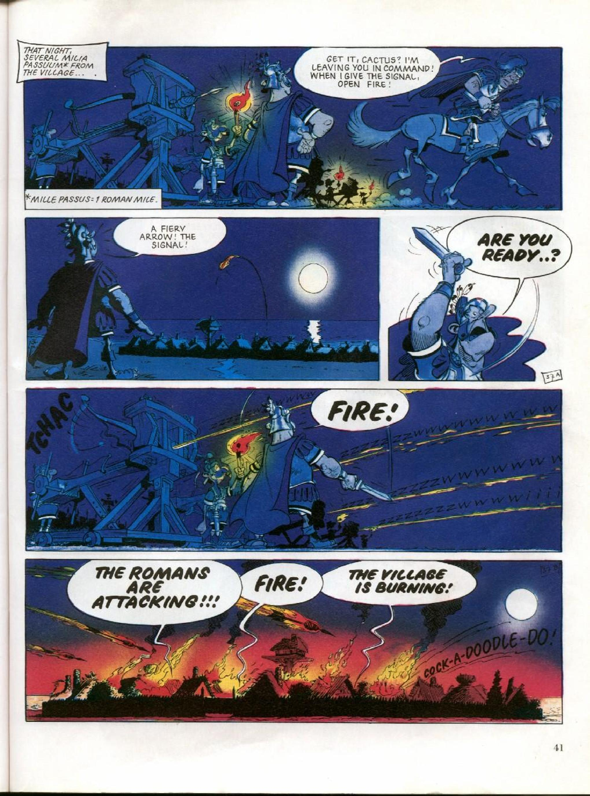 Read online Asterix comic -  Issue #27 - 38