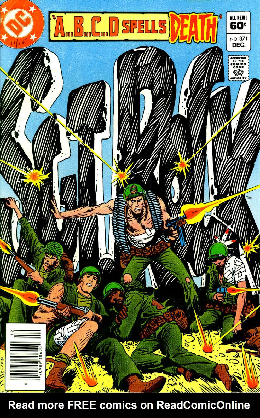 Sgt. Rock issue 371 - Page 1