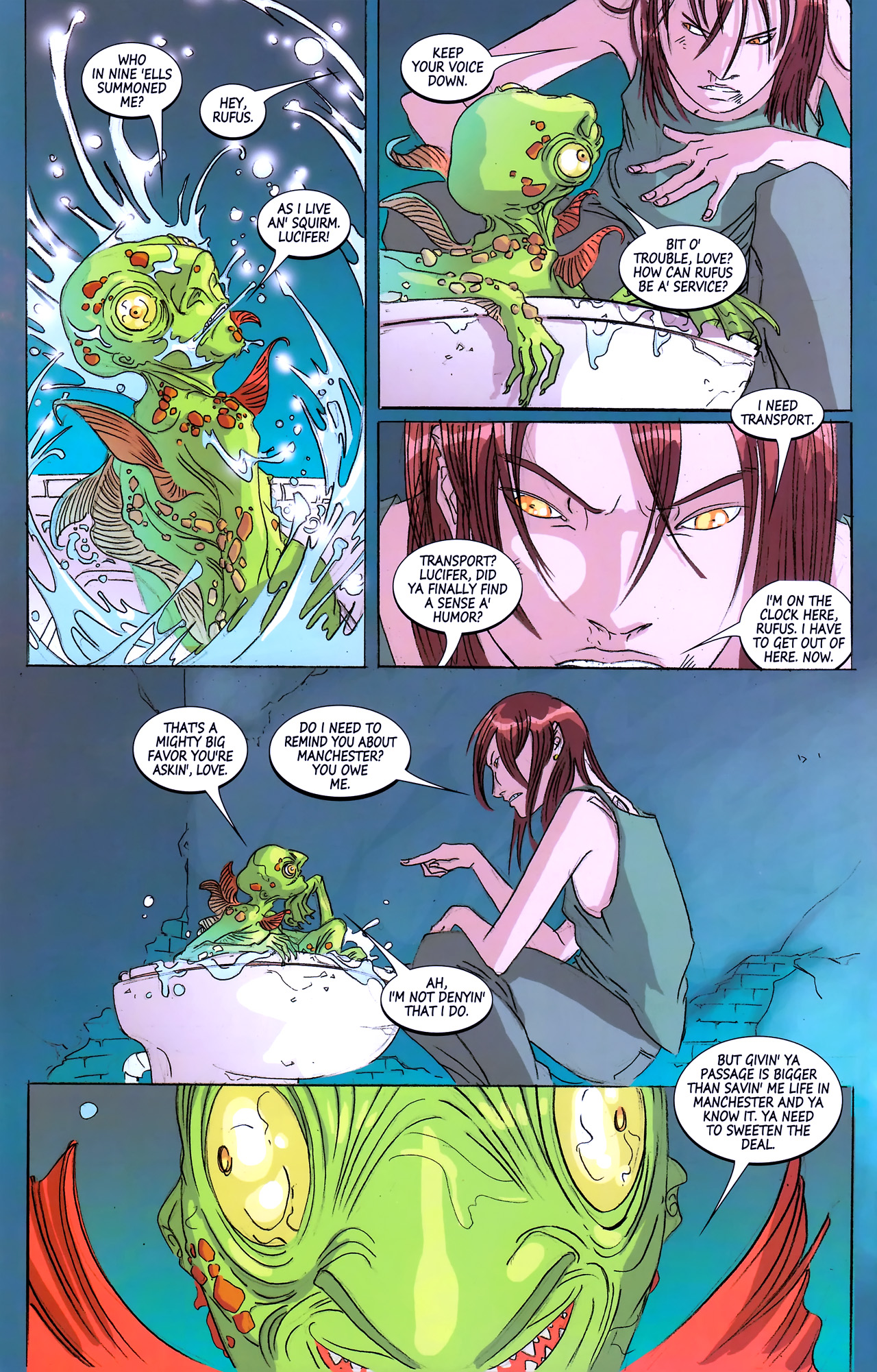 Read online Hexed comic -  Issue #3 - 20