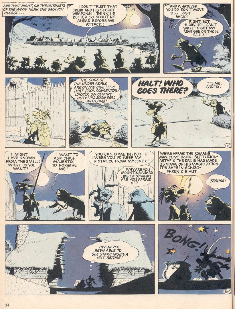 Read online Asterix comic -  Issue #25 - 31