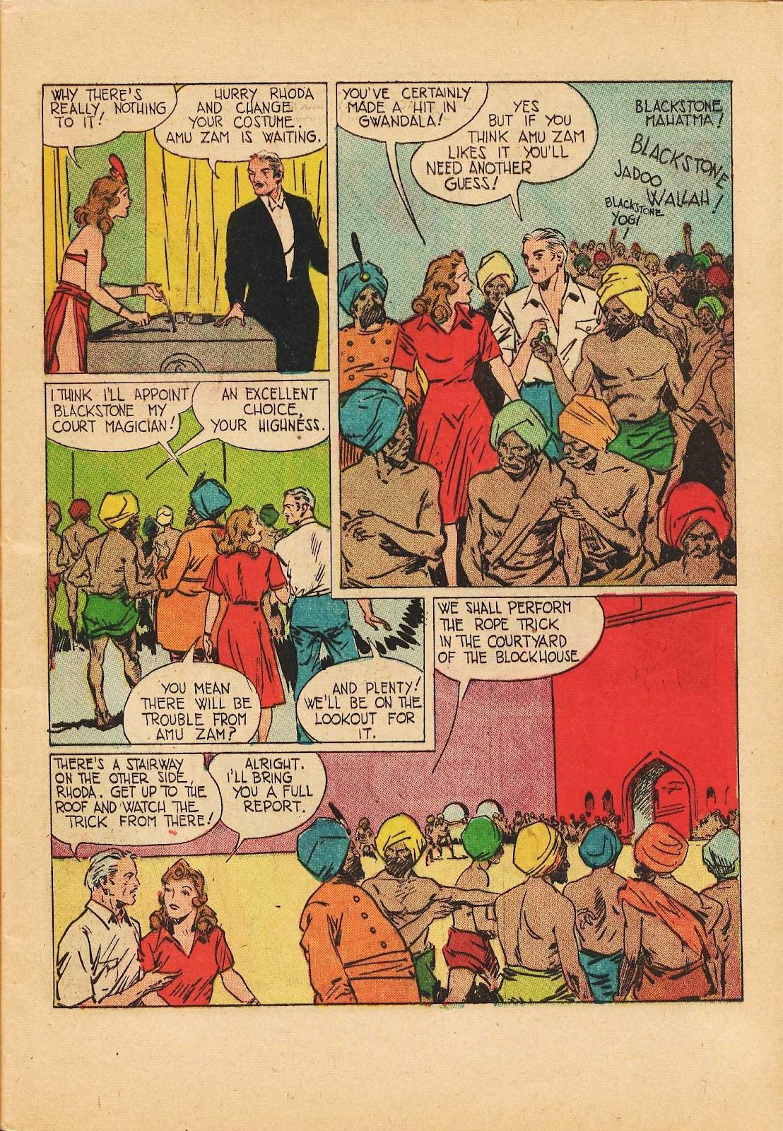 Super-Magician Comics issue 22 - Page 9