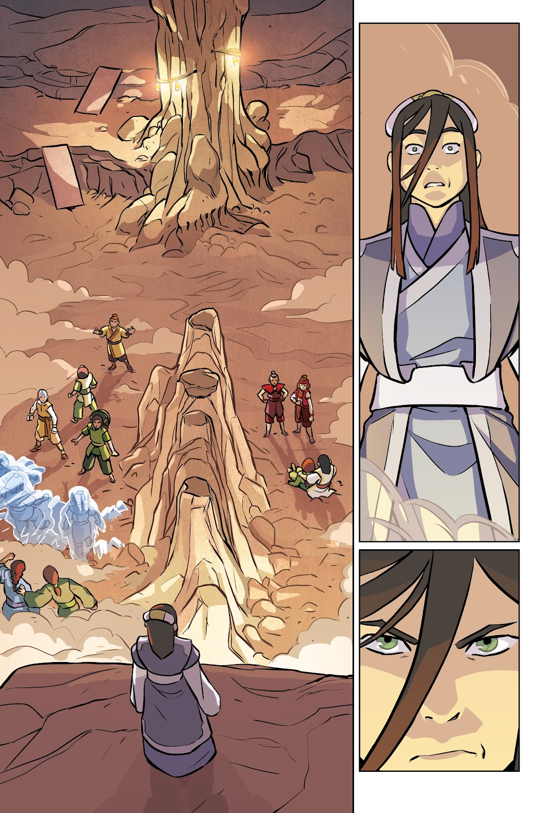 Read online Nickelodeon Avatar: The Last Airbender - Imbalance comic -  Issue # TPB 2 - 66