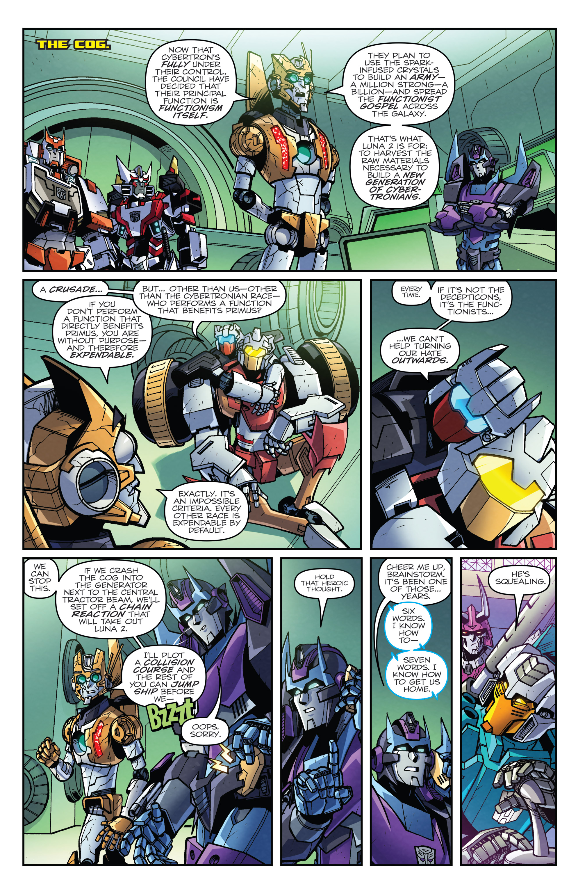 Read online Transformers: Lost Light comic -  Issue #5 - 21