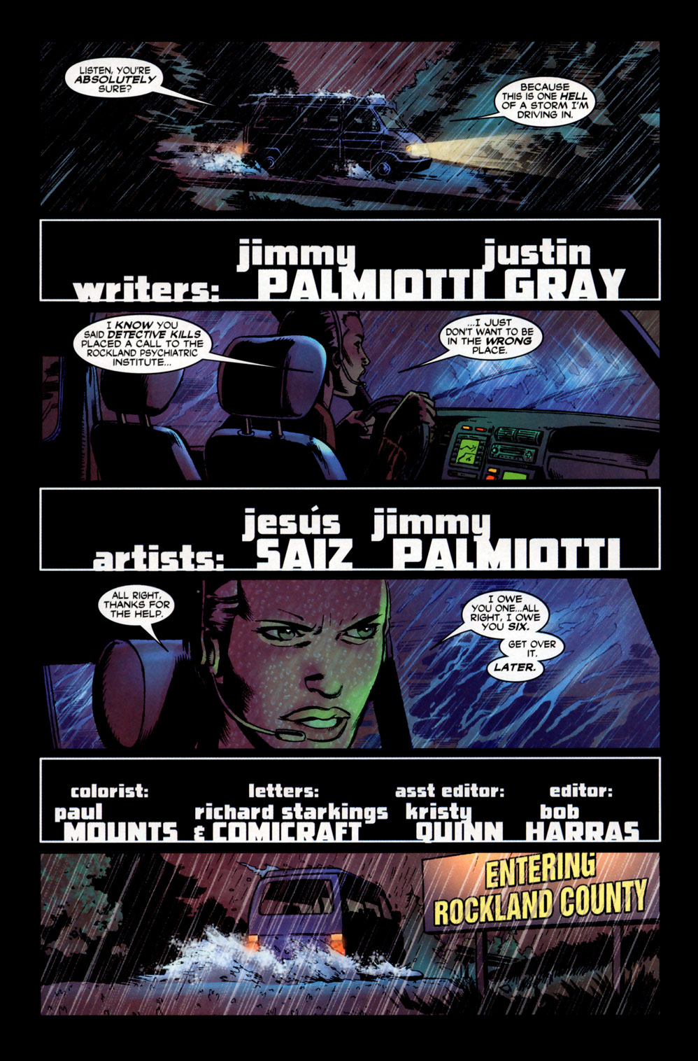 Read online 21 Down comic -  Issue #6 - 2