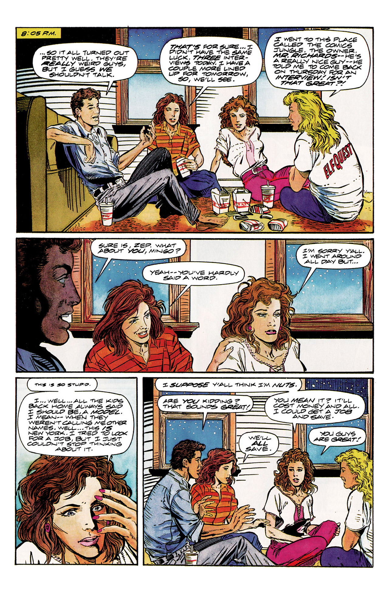 Read online Harbinger (1992) comic -  Issue #10 - 11