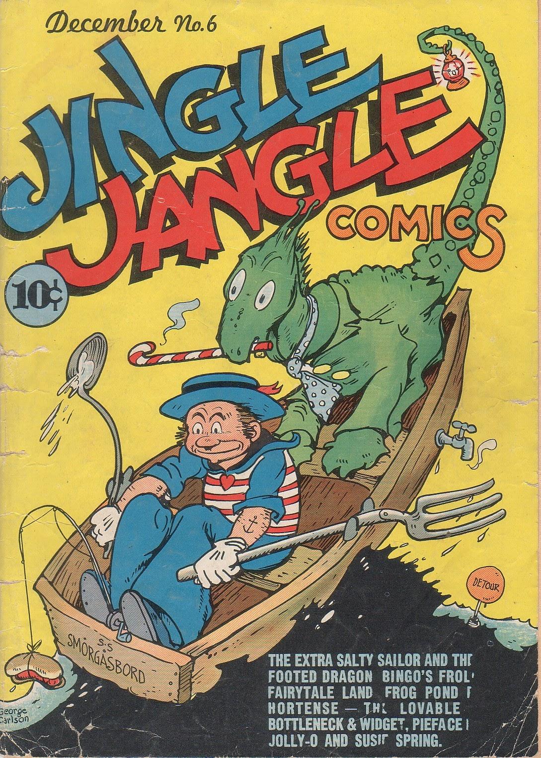 Jingle Jangle Comics issue 6 - Page 1