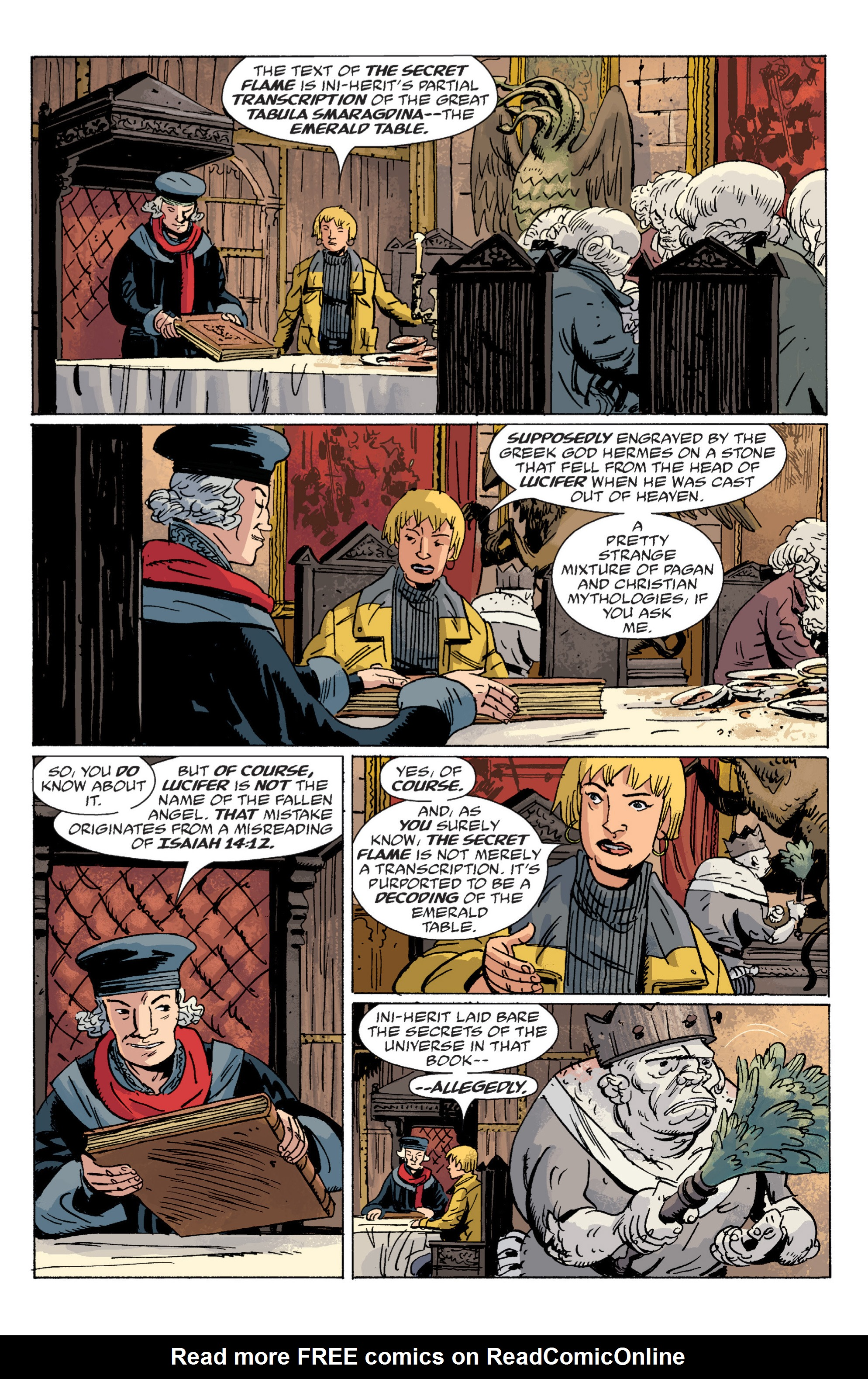 Read online B.P.R.D. (2003) comic -  Issue # TPB 6 - 62