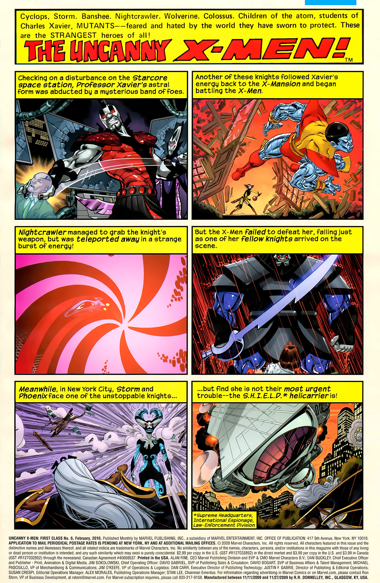 Read online Uncanny X-Men: First Class comic -  Issue #6 - 2