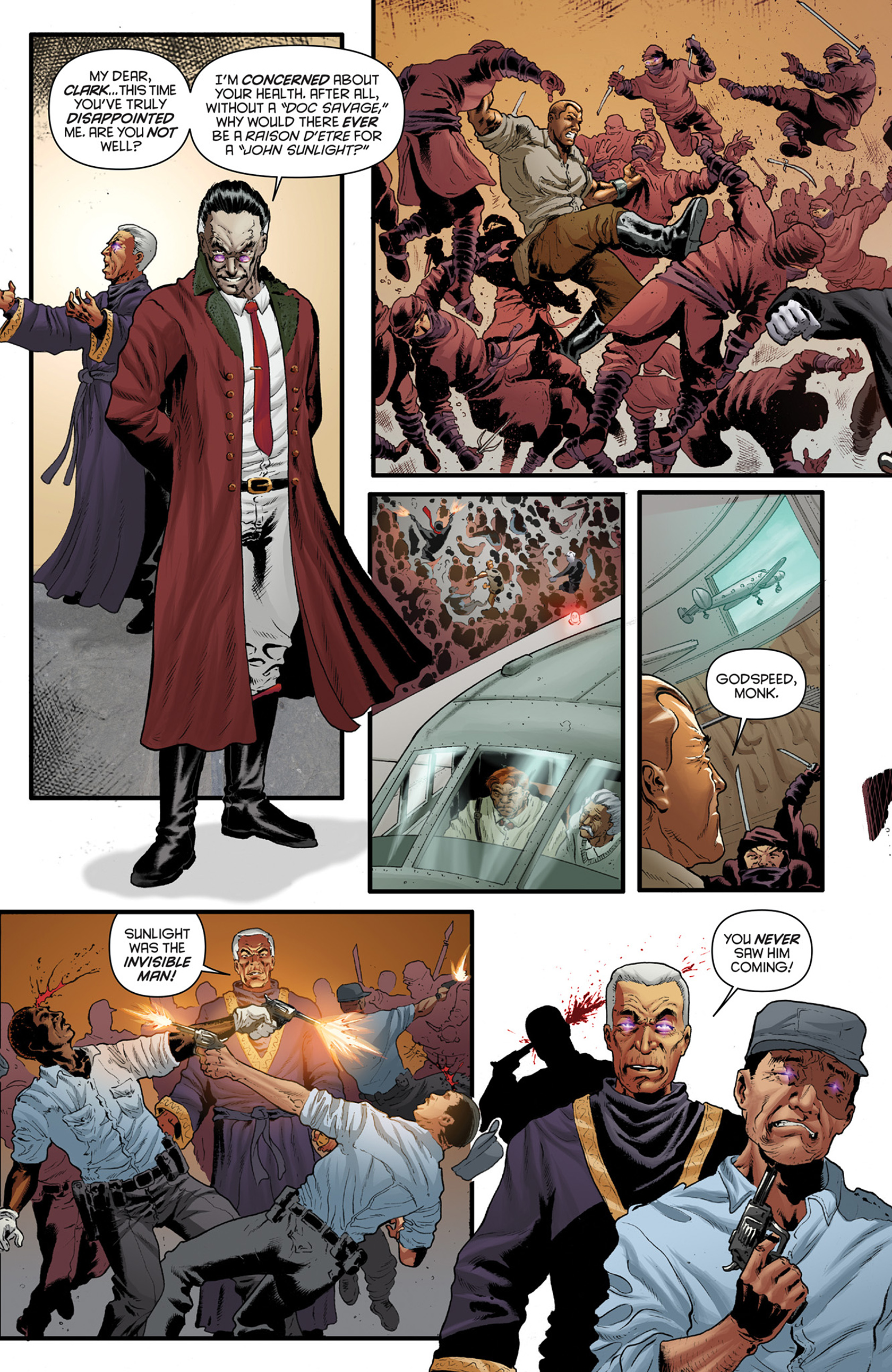 Read online Justice, Inc. comic -  Issue #4 - 4