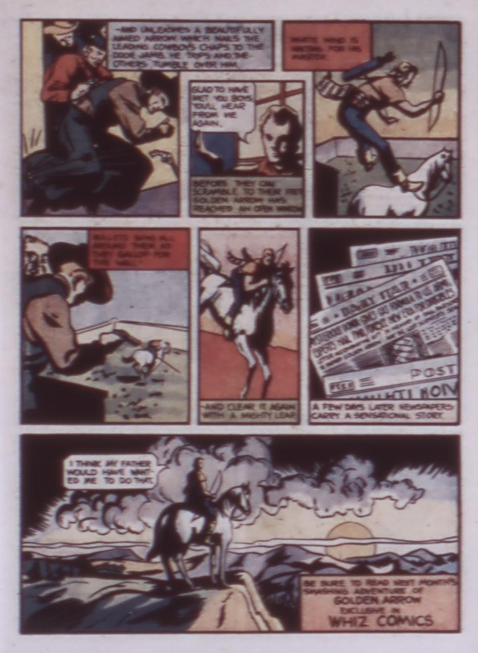Read online WHIZ Comics comic -  Issue #1 - 33