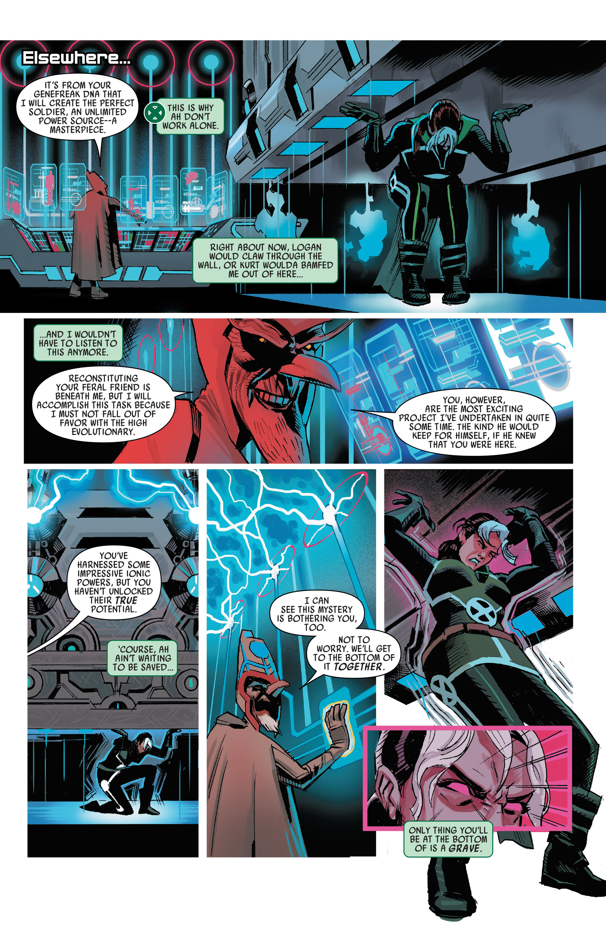 Read online Uncanny Avengers [I] comic -  Issue #3 - 8