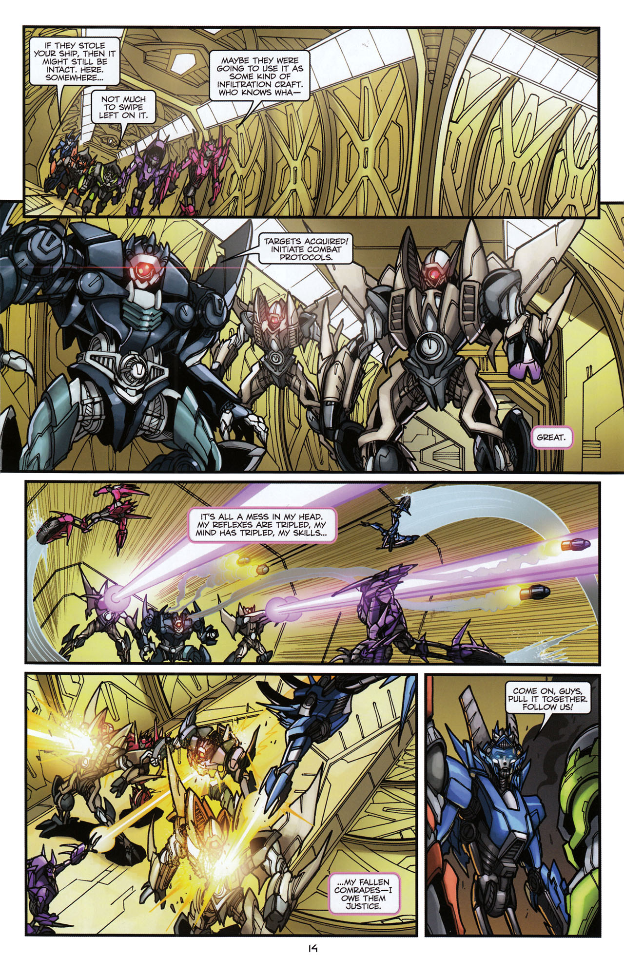 Read online Transformers: Tales of The Fallen comic -  Issue #6 - 16