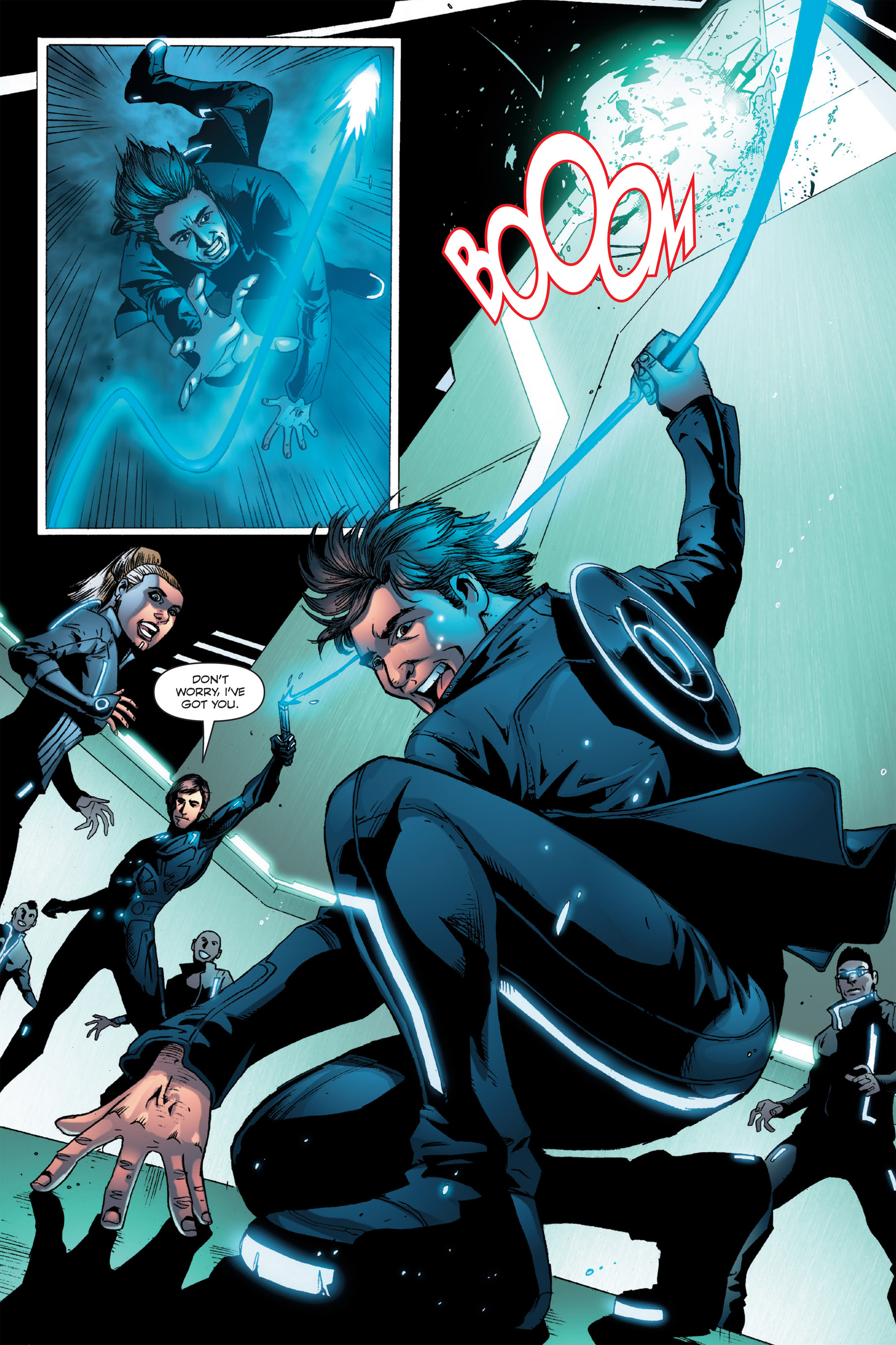 Read online TRON: Betrayal comic -  Issue # TPB - 51