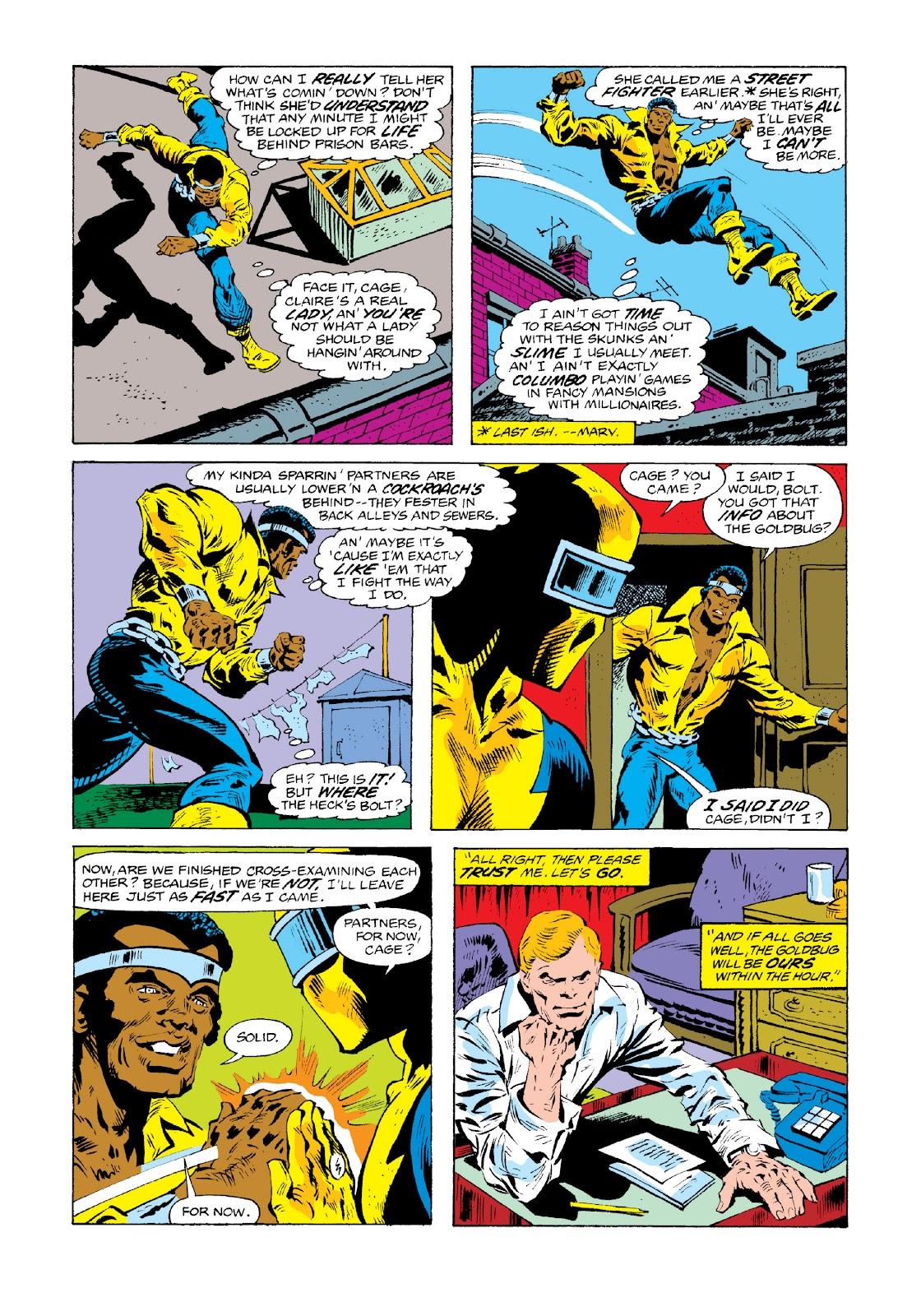 Read online Marvel Masterworks: Luke Cage, Power Man comic -  Issue # TPB 3 (Part 3) - 17