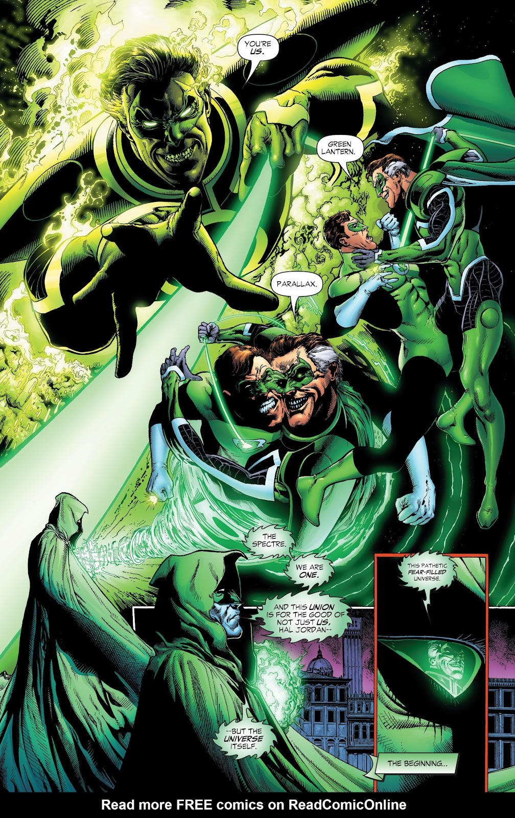 Read online Green Lantern by Geoff Johns comic -  Issue # TPB 1 (Part 1) - 10