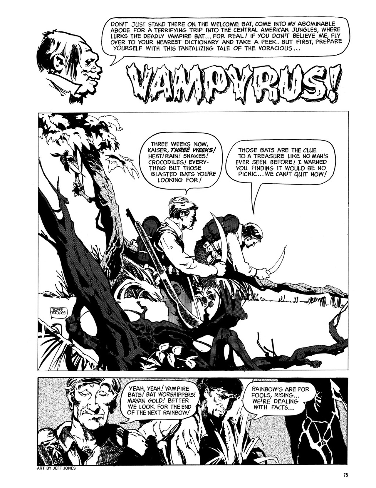 Read online Eerie Archives comic -  Issue # TPB 3 - 76
