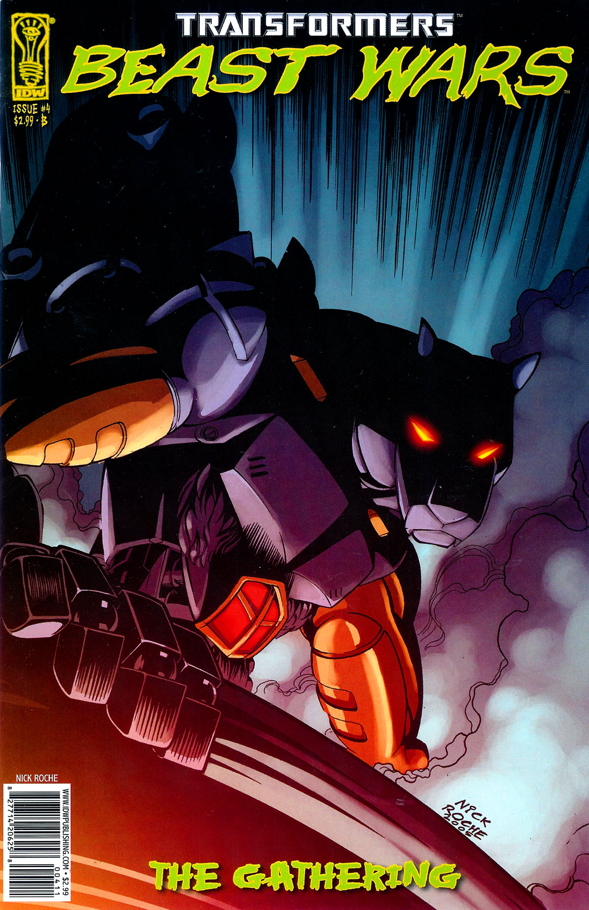 Read online Transformers, Beast Wars: The Gathering comic -  Issue #4 - 2