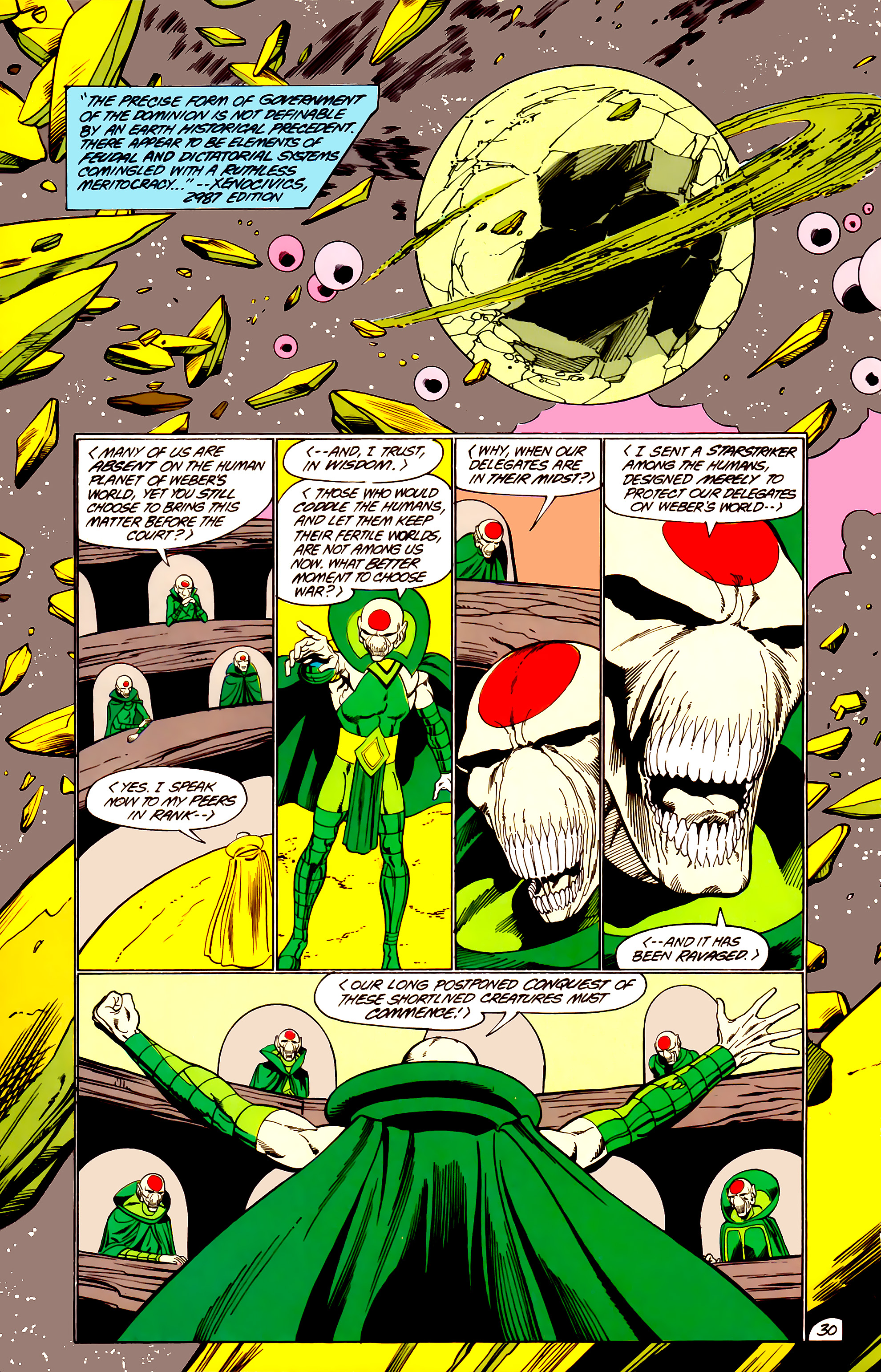 Legion of Super-Heroes (1984) _Annual_3 Page 30