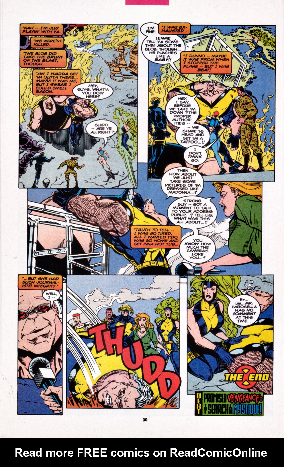 Read online X-Factor (1986) comic -  Issue #107 - 21