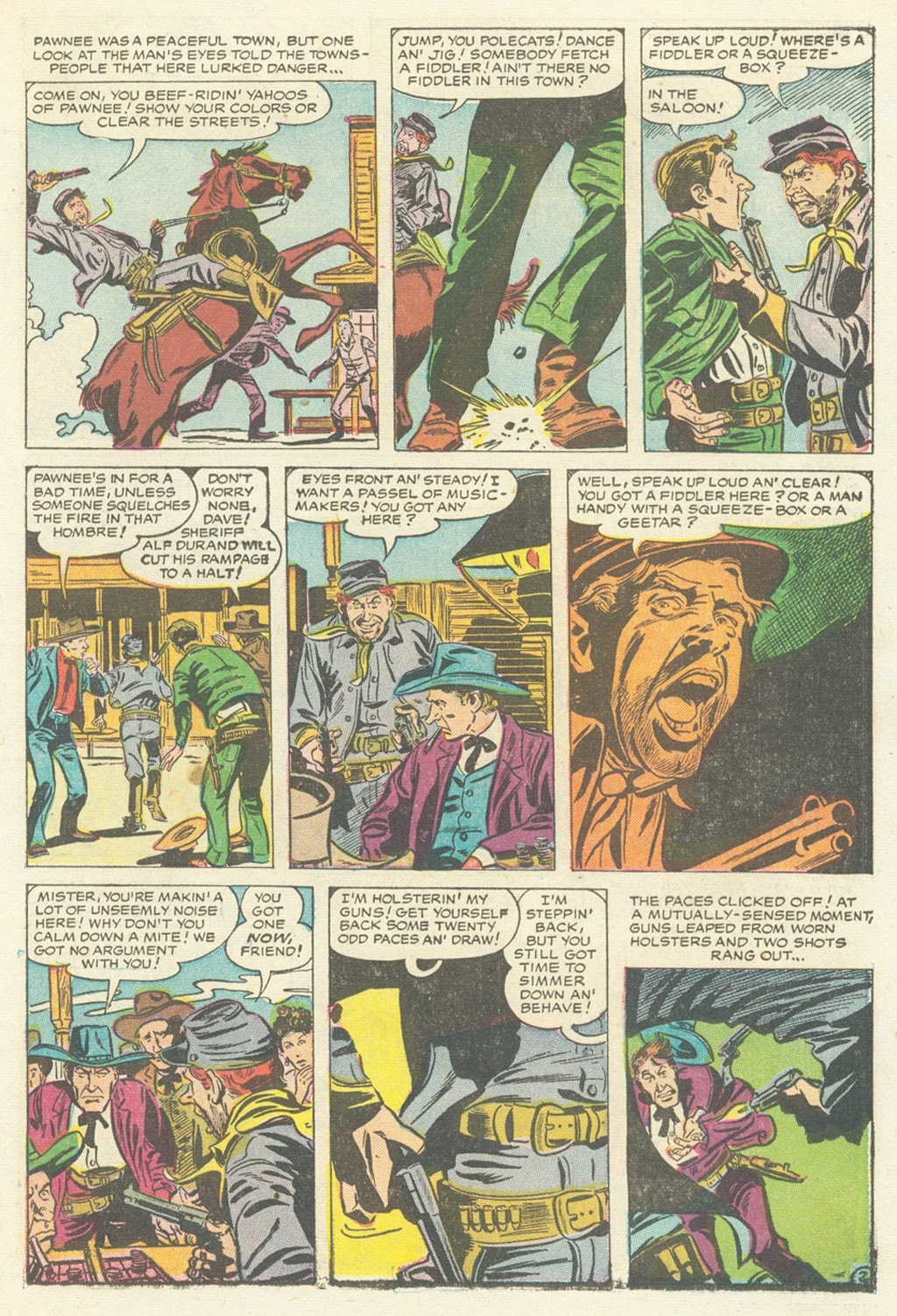 Kid Colt Outlaw issue 52 - Page 21
