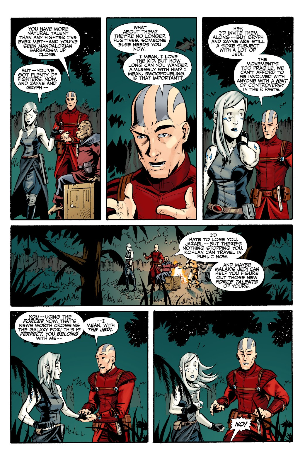 Read online Star Wars Legends: The Old Republic - Epic Collection comic -  Issue # TPB 3 (Part 2) - 12