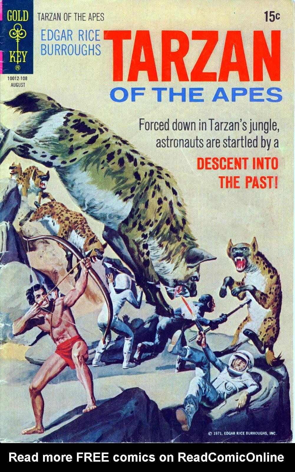 Tarzan (1962) issue 202 - Page 1