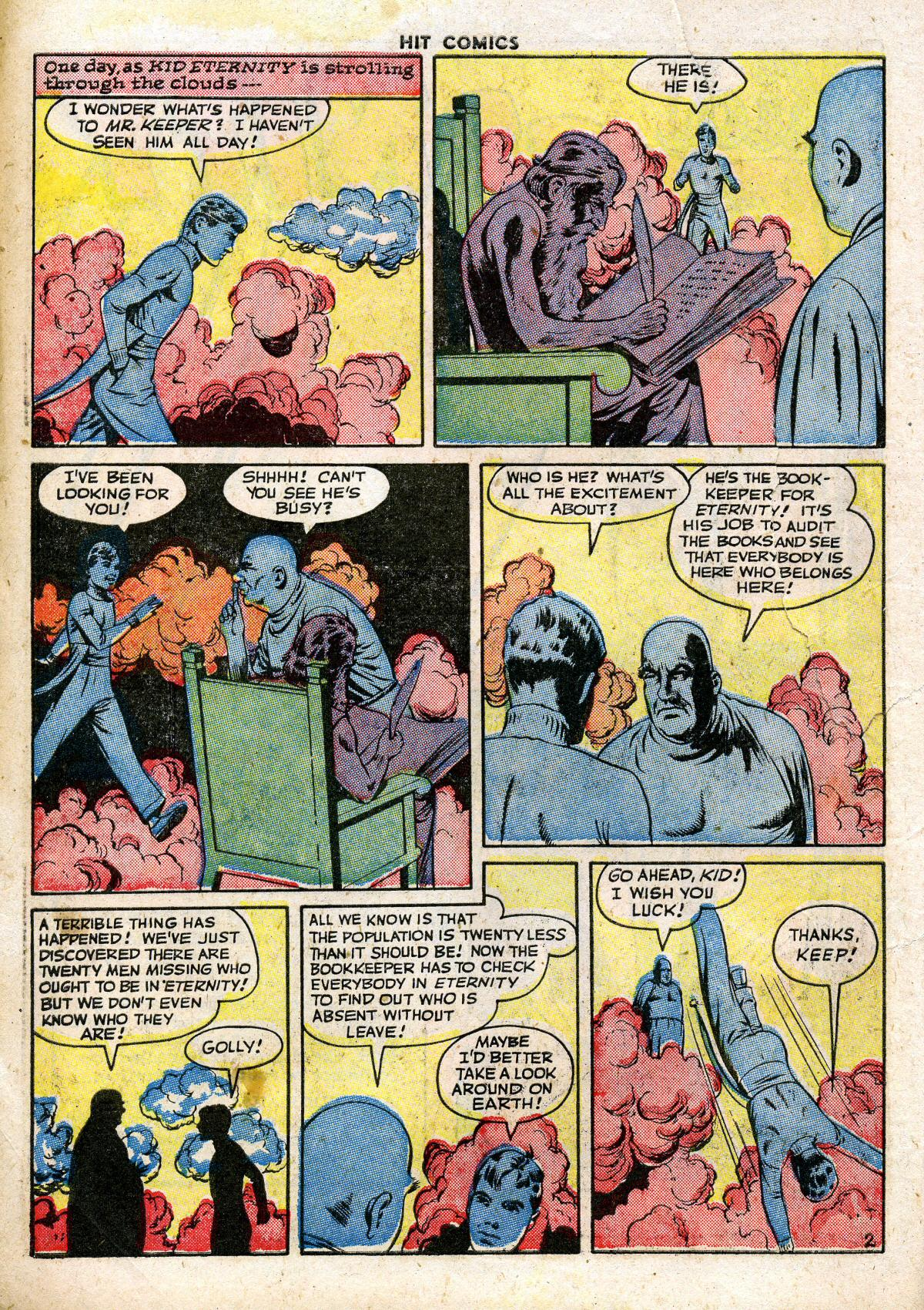 Read online Hit Comics comic -  Issue #41 - 4
