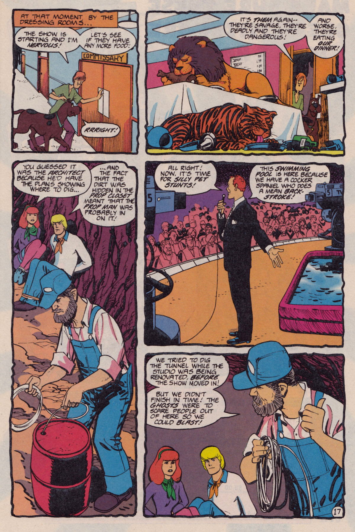Read online Scooby-Doo (1995) comic -  Issue #10 - 18