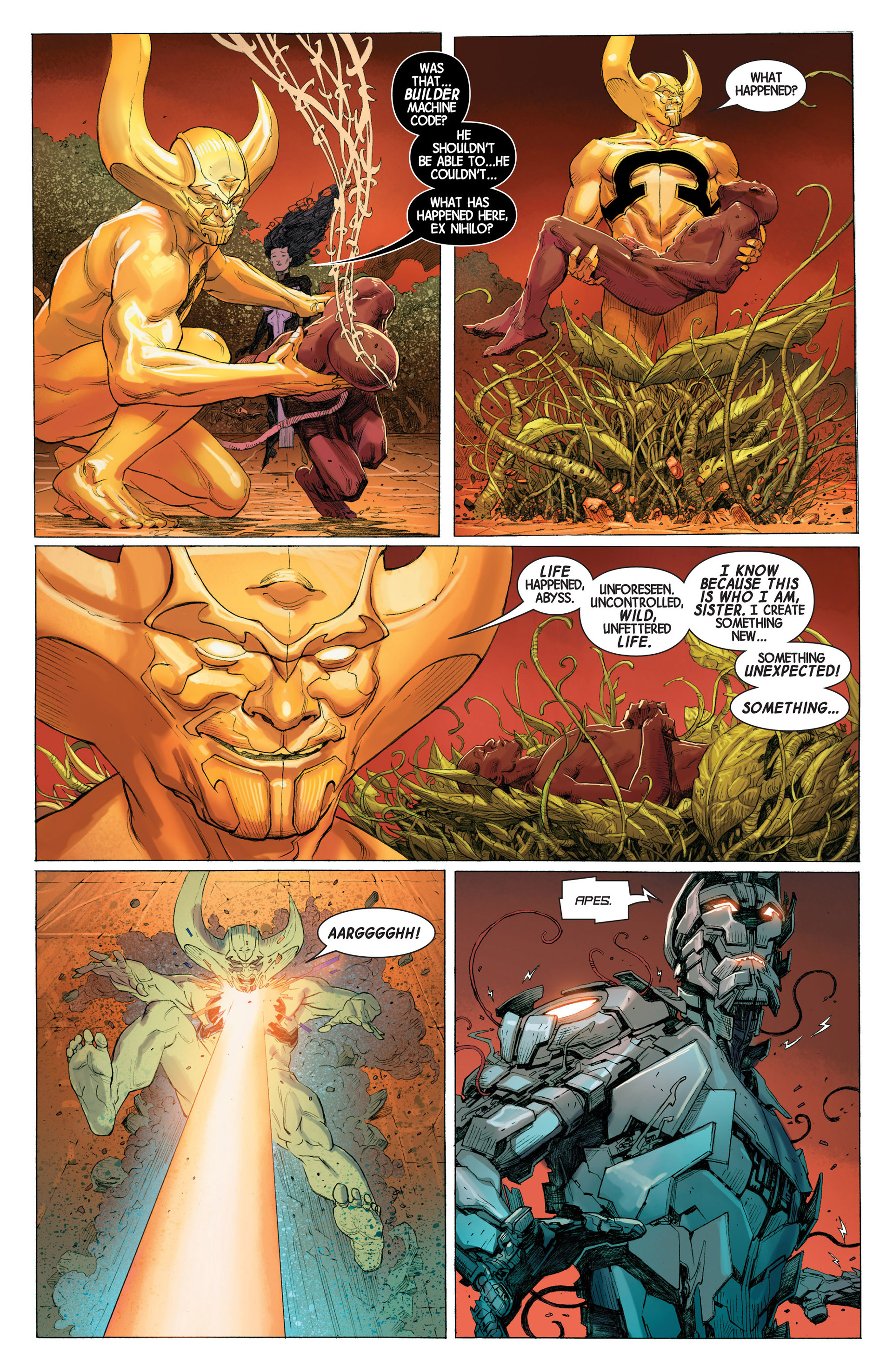 Read online Avengers (2013) comic -  Issue #3 - 9