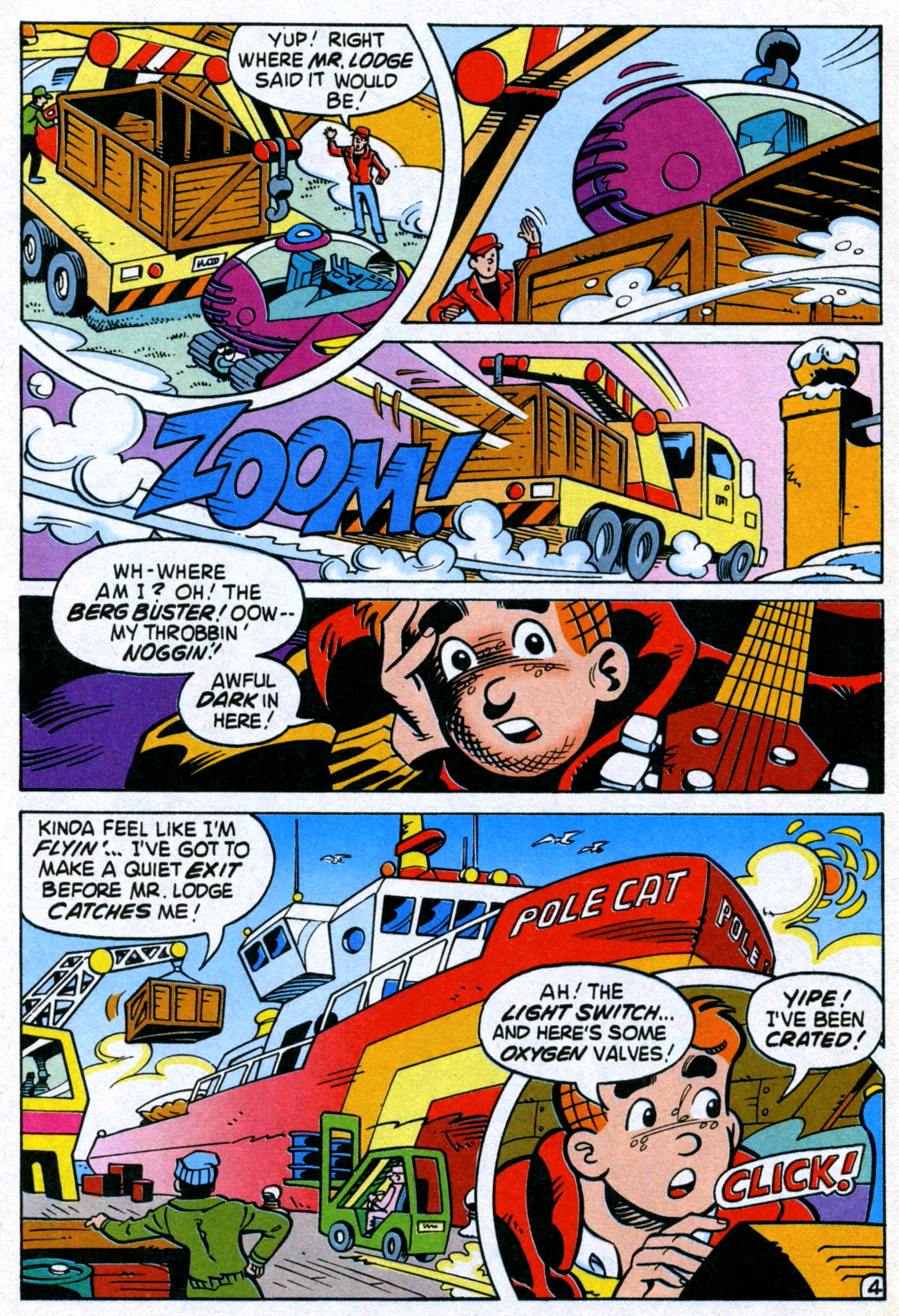 Read online World of Archie comic -  Issue #22 - 6