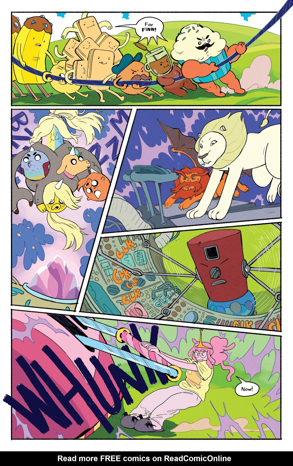 Read online Adventure Time: Beginning of the End comic -  Issue # _TPB - 49