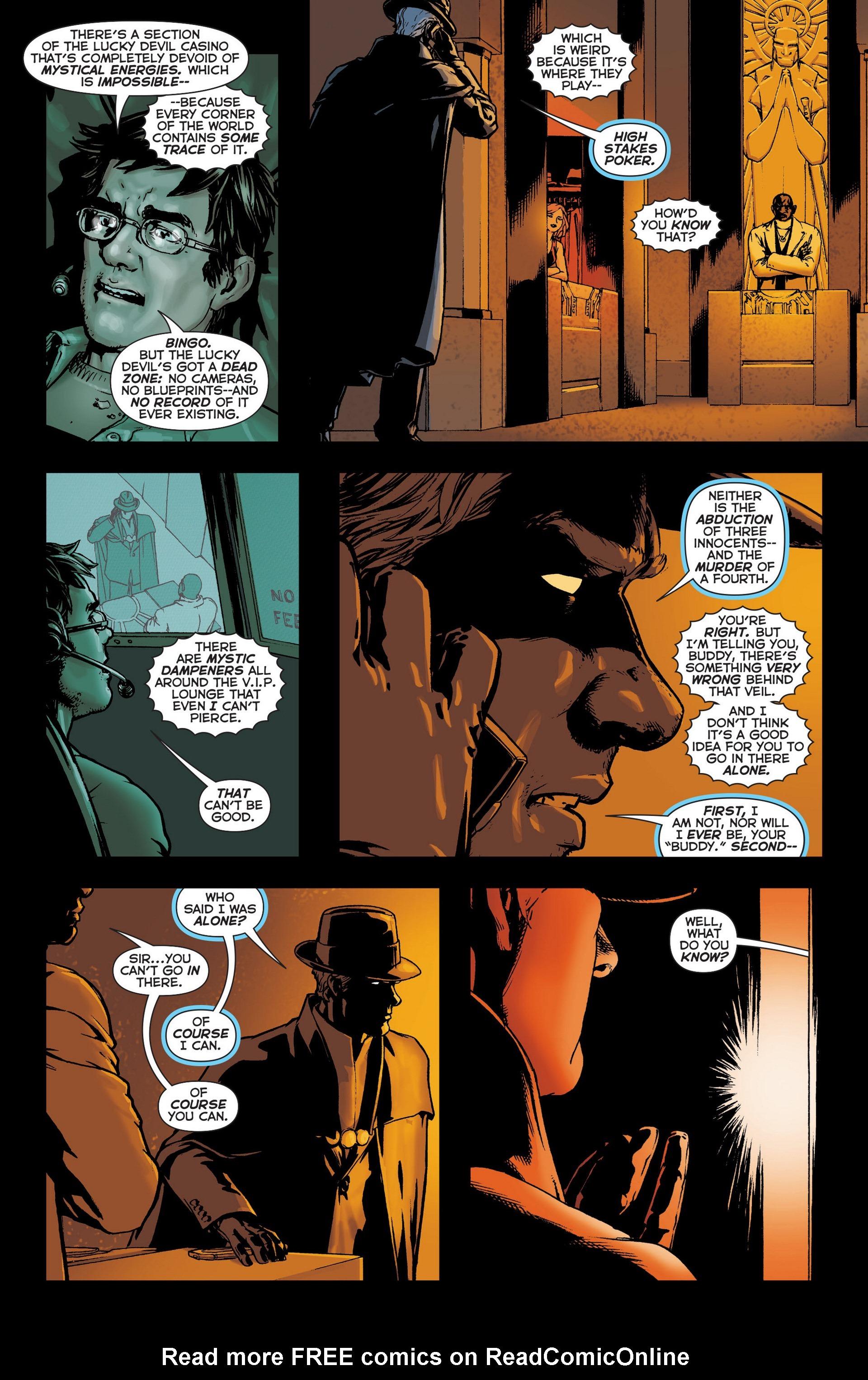 Read online Trinity of Sin: The Phantom Stranger comic -  Issue #6 - 6