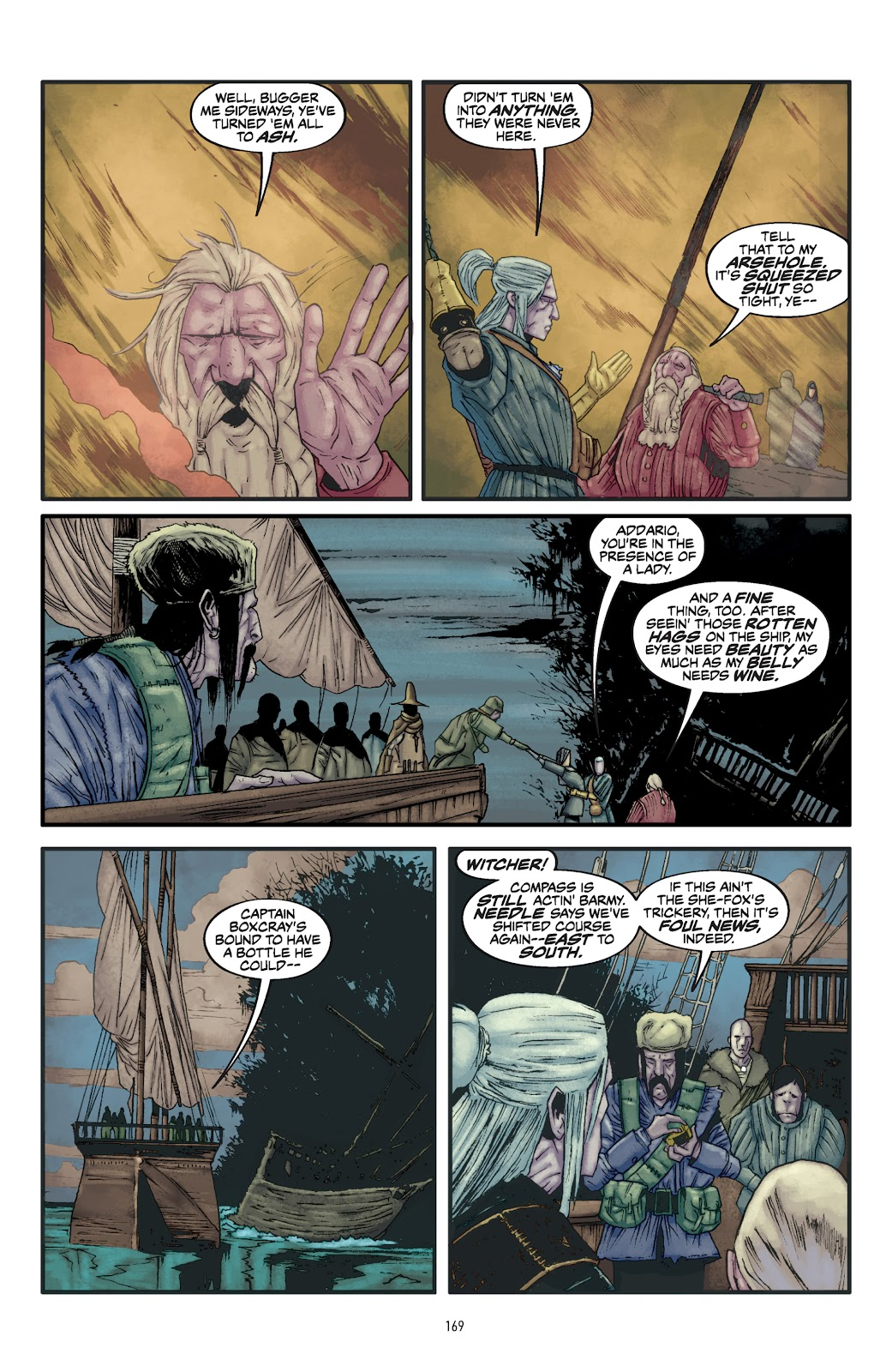 Read online The Witcher Omnibus comic -  Issue # TPB (Part 2) - 70
