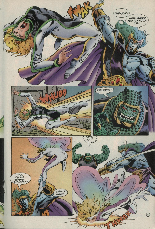 Read online Godwheel comic -  Issue #1 - 18