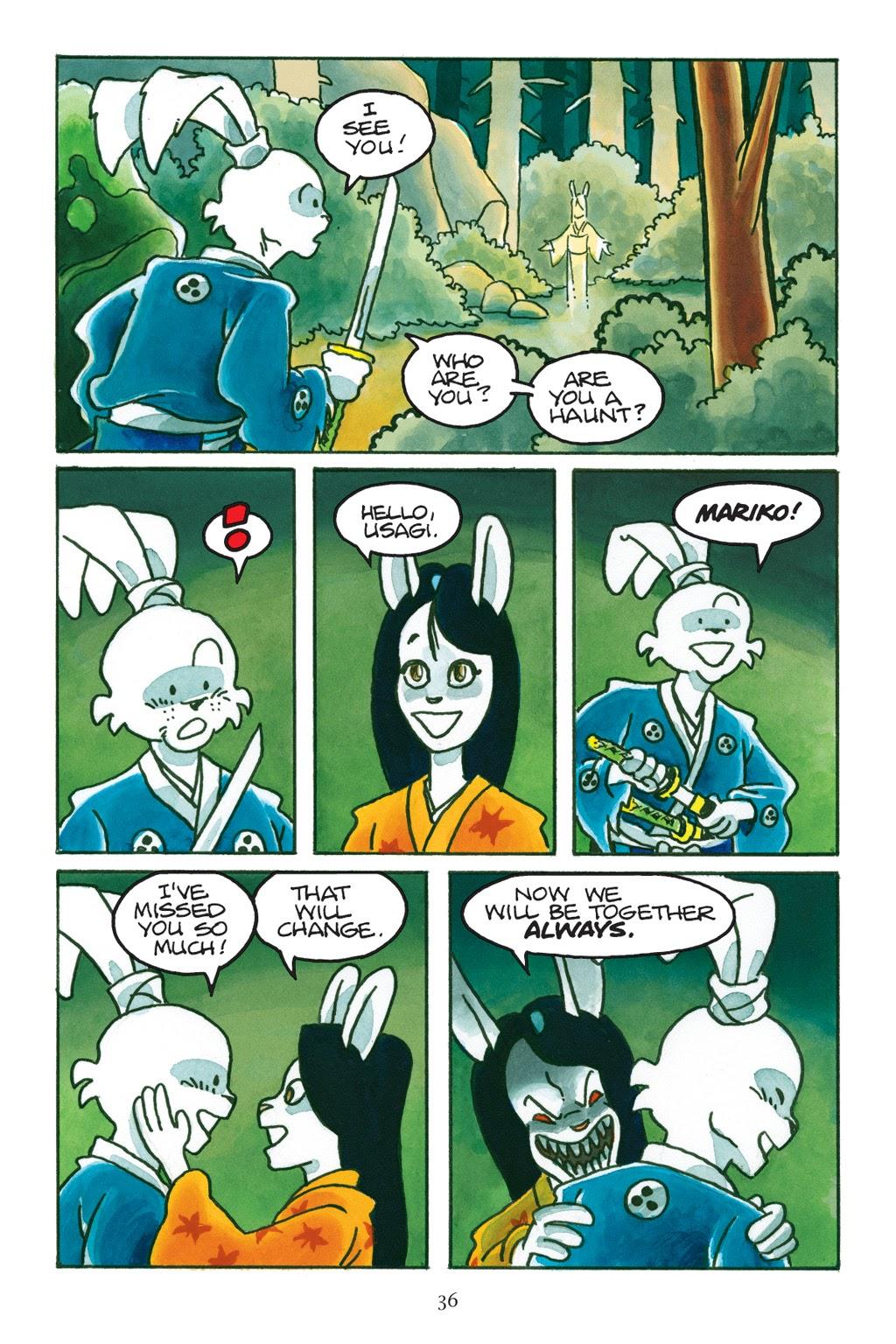 Read online Usagi Yojimbo: Yokai comic -  Issue # Full - 35
