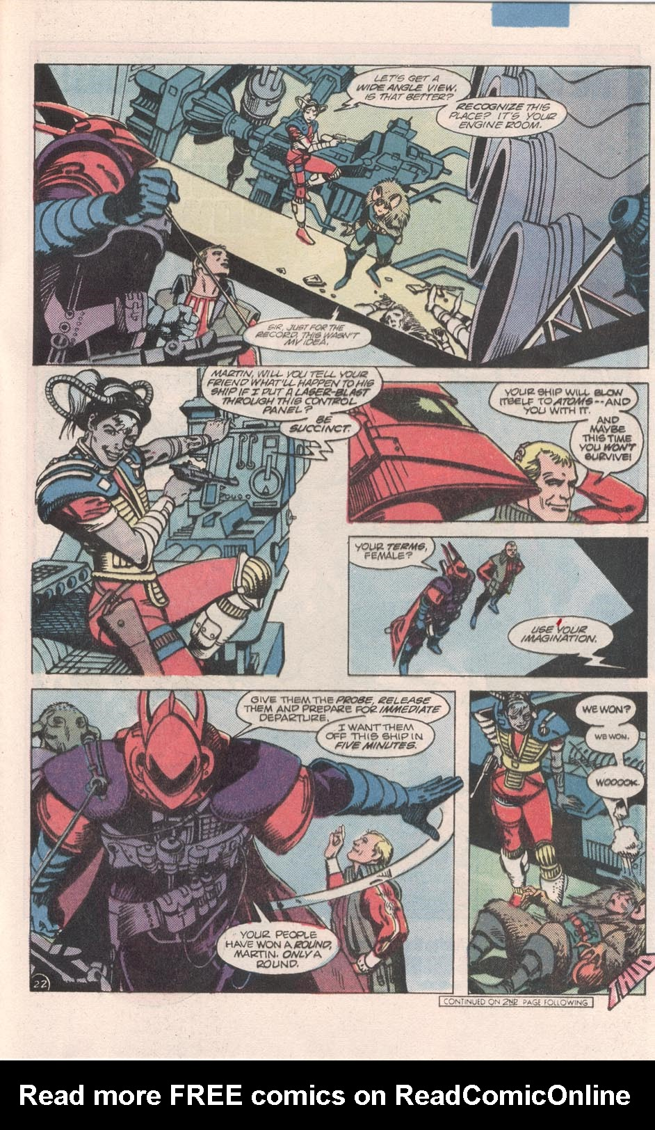 Read online Atari Force (1984) comic -  Issue #7 - 23