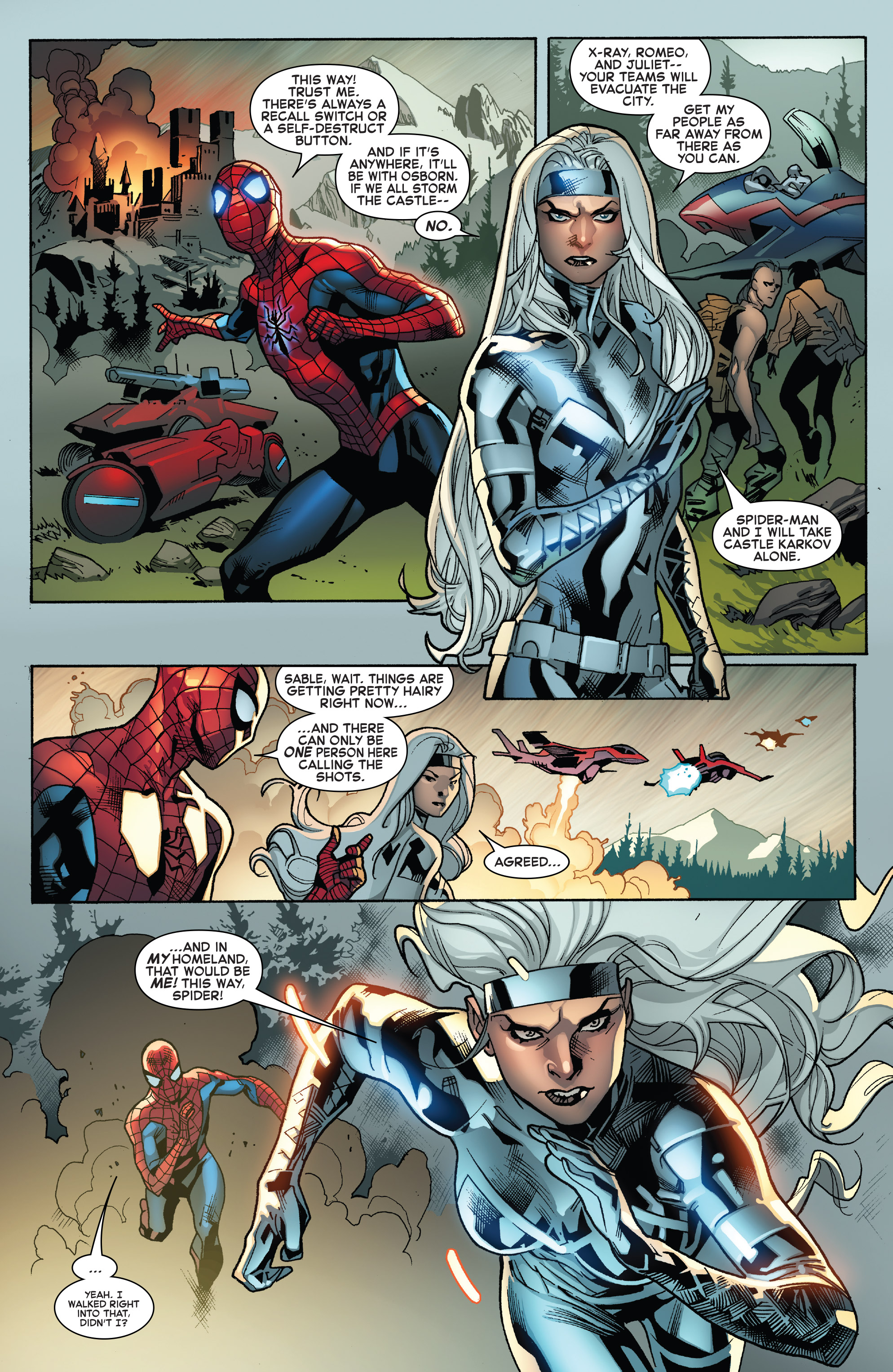 Read online The Amazing Spider-Man (2015) comic -  Issue #28 - 4