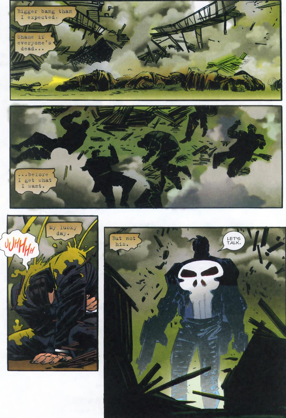 Read online Punisher/Batman: Deadly Knights comic -  Issue # Full - 8