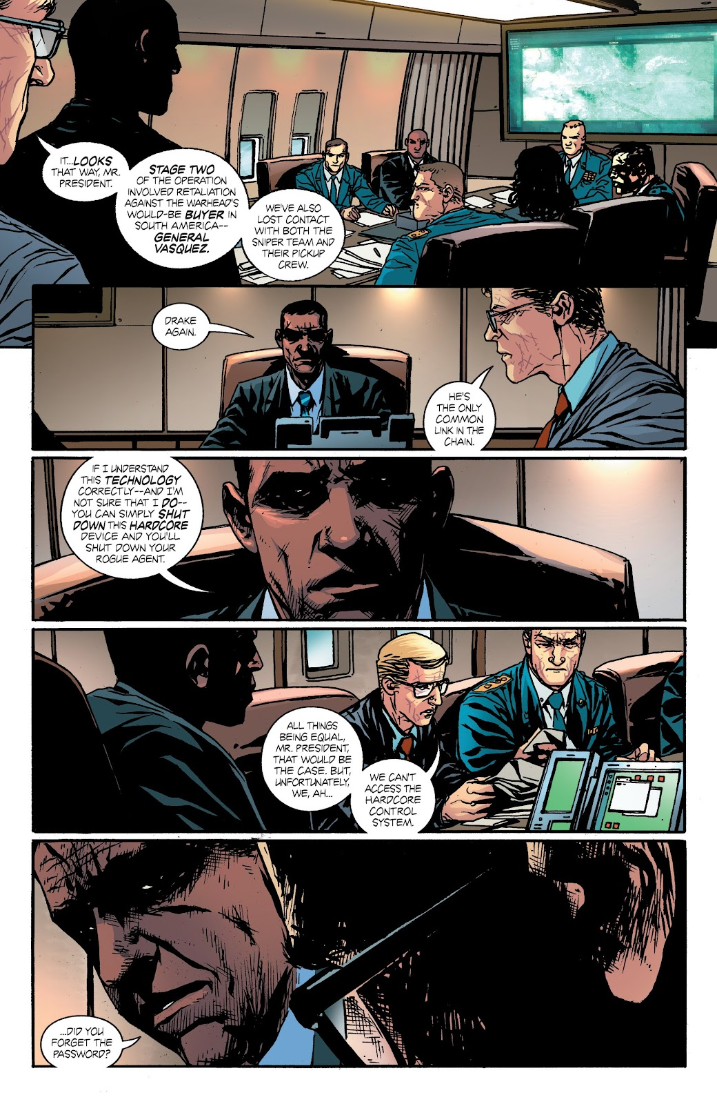 Read online Hardcore comic -  Issue #3 - 17