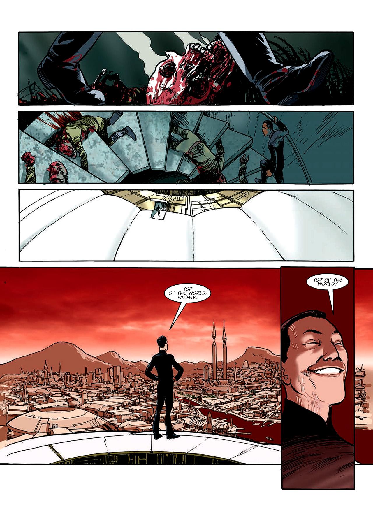 Read online Nikolai Dante comic -  Issue # TPB 10 - 116