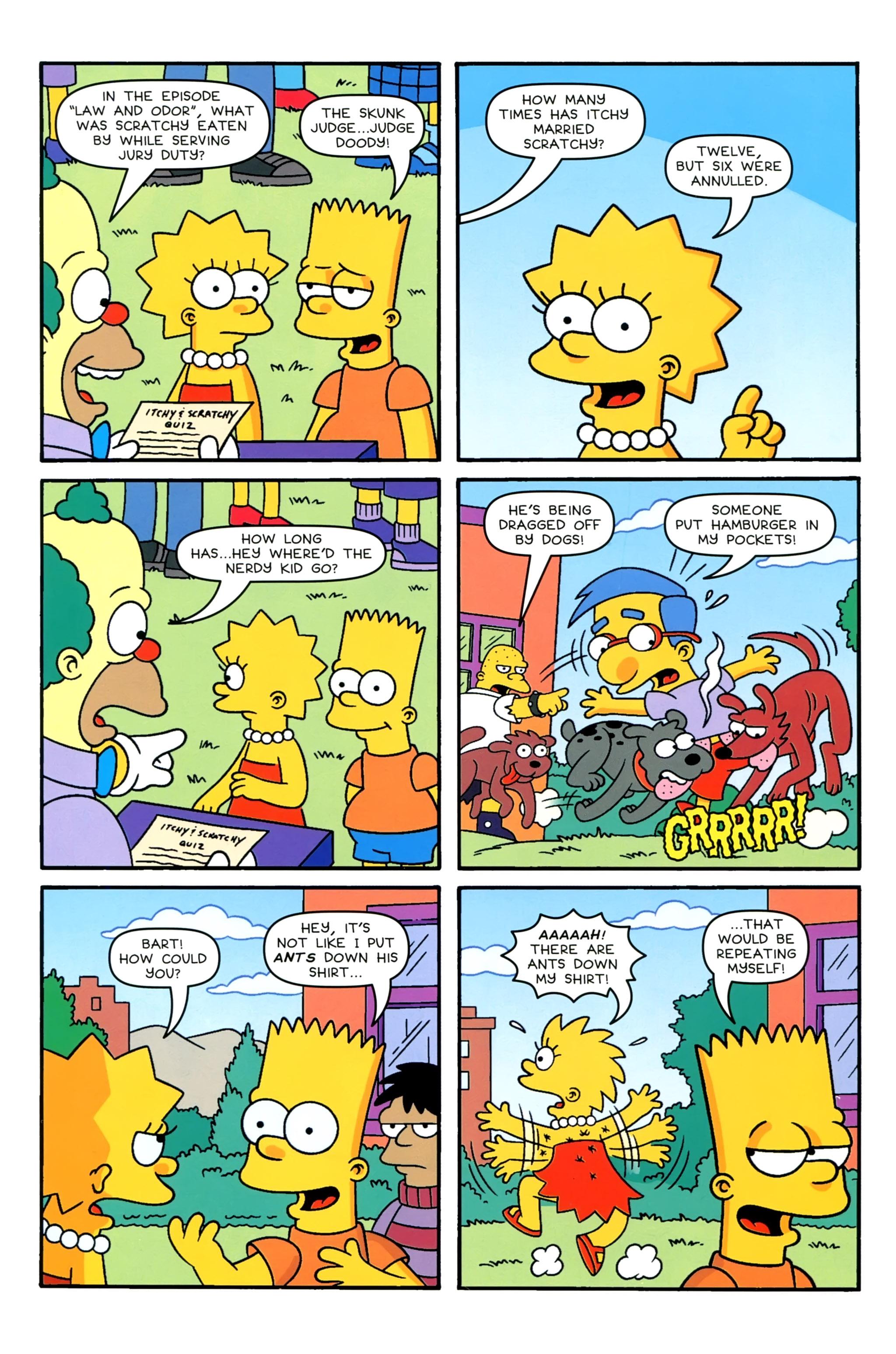 Read online Simpsons Comics comic -  Issue #229 - 6