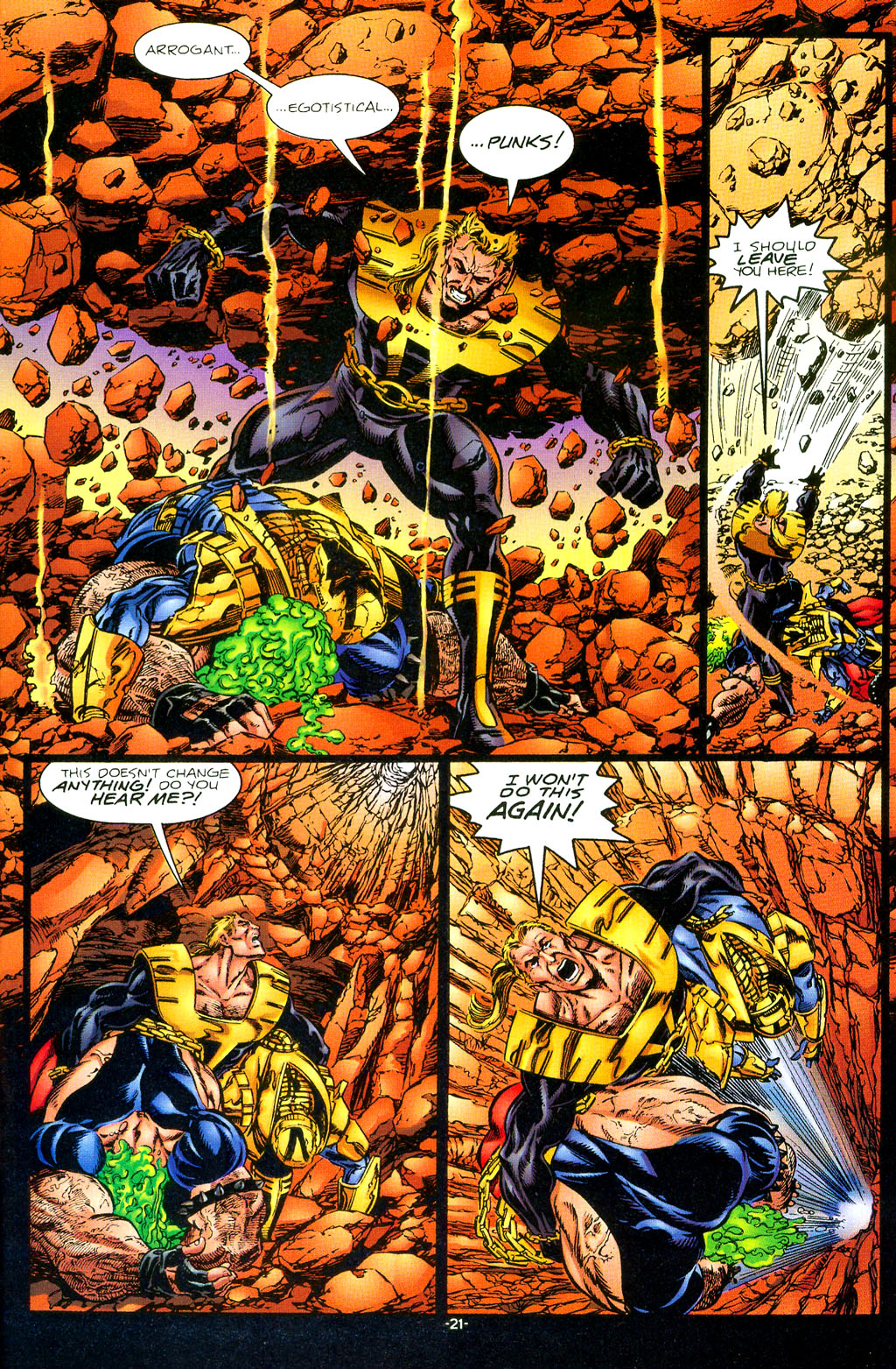Read online UltraForce (1994) comic -  Issue #1 - 22