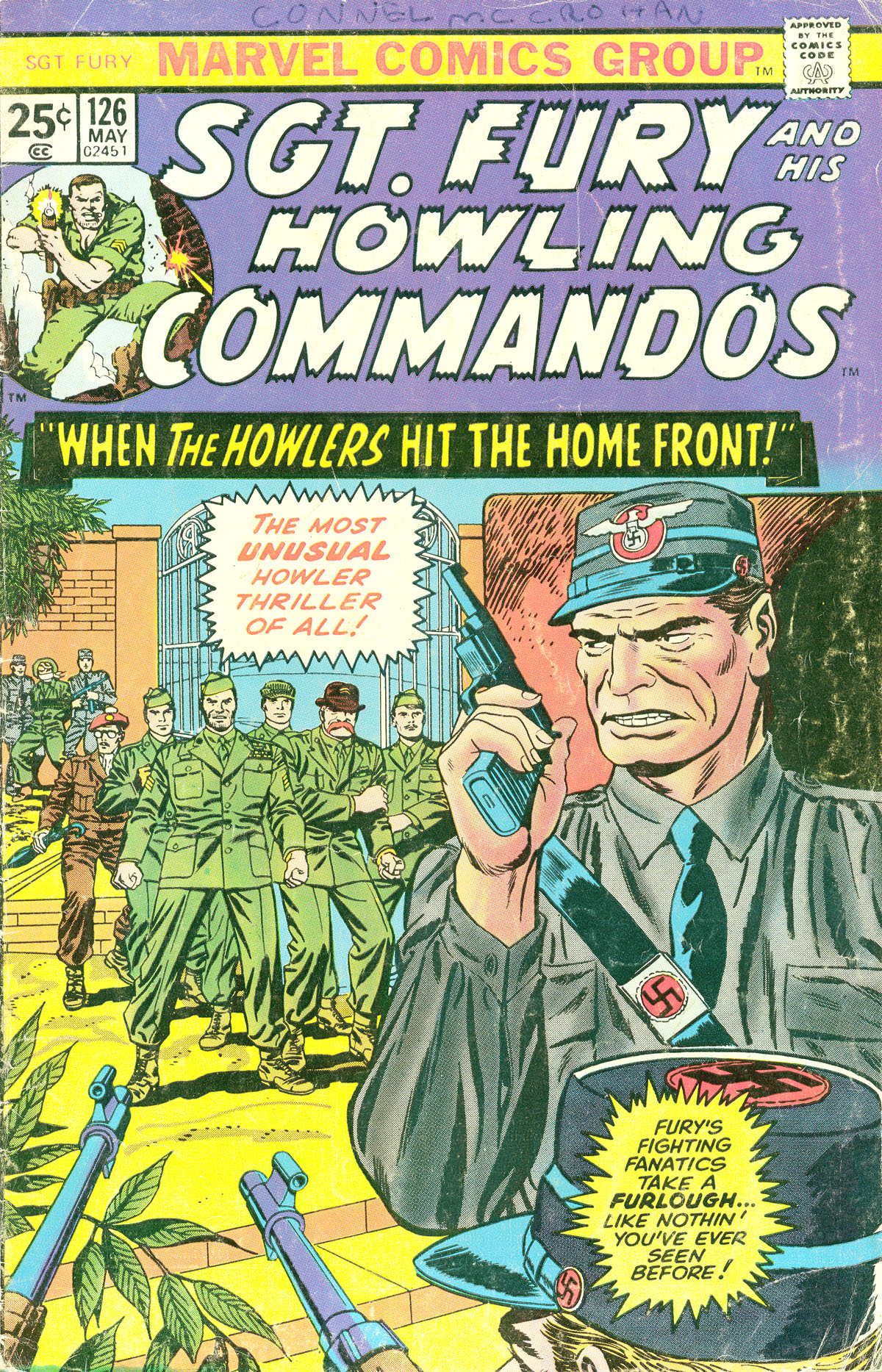 Read online Sgt. Fury comic -  Issue #126 - 1